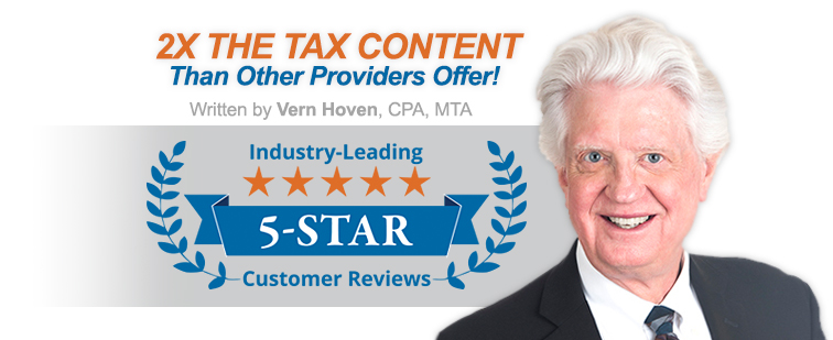 Vern Hoven Tax Updates