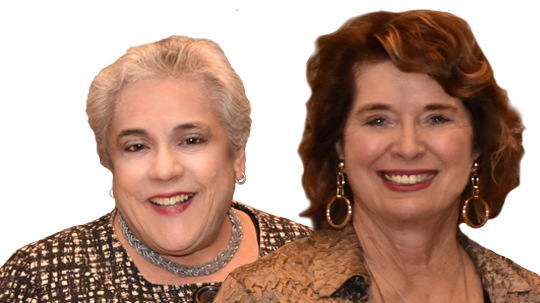 Sharon Kreider and Karen Brosi