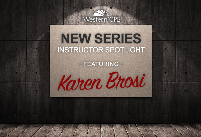 Instructor Spotlight: Karen Brosi