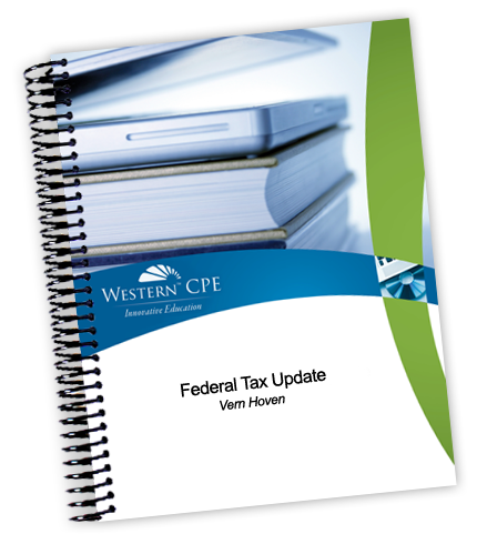 Federal Tax Update Manual