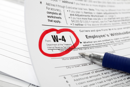 IRS Releases Draft of 2019 Form W-4