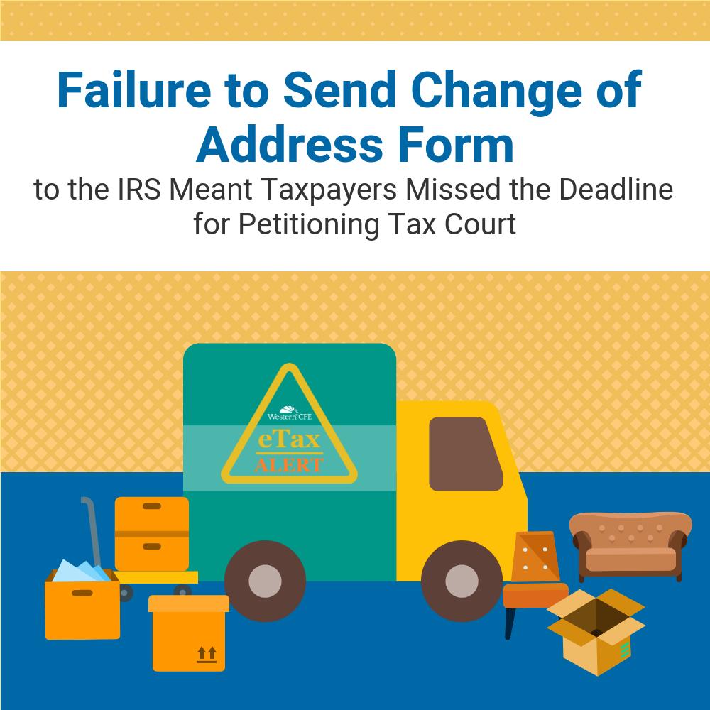 IRS Change of Address Form