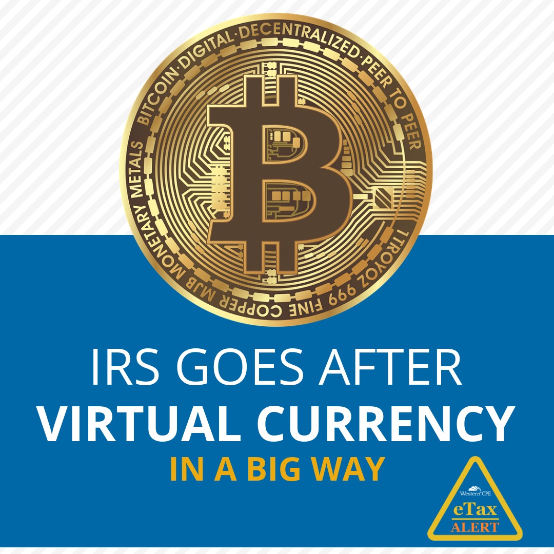 IRS Virtual Currency