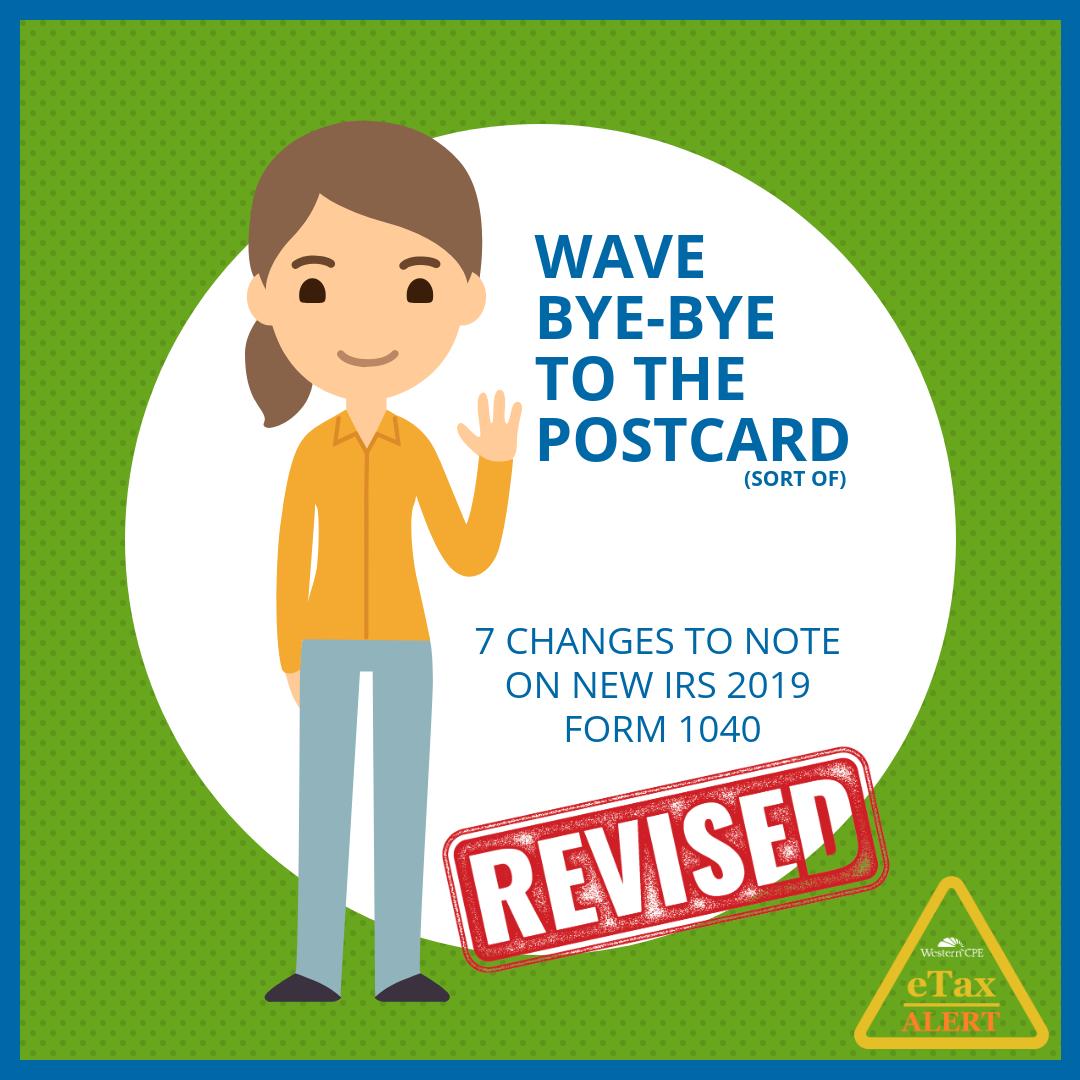Revised Final Form 1040